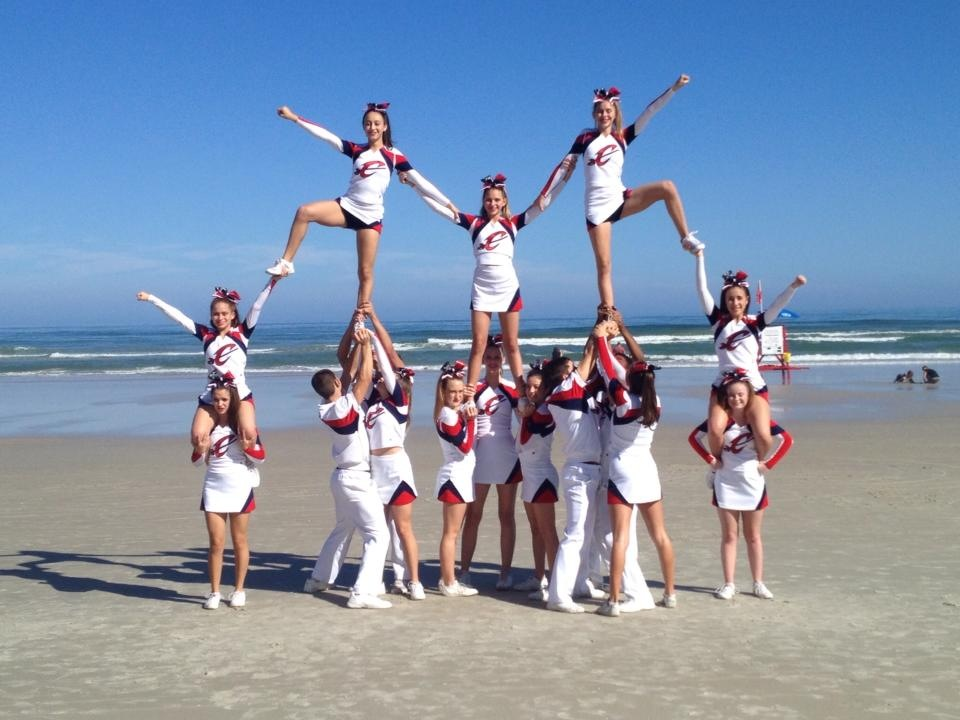 Athletics_Photo_Competitive_Cheerleading_Beach